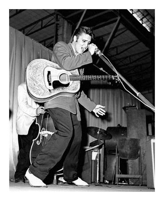 ELVIS PRESLEY AT THE FLORIDA THEATER