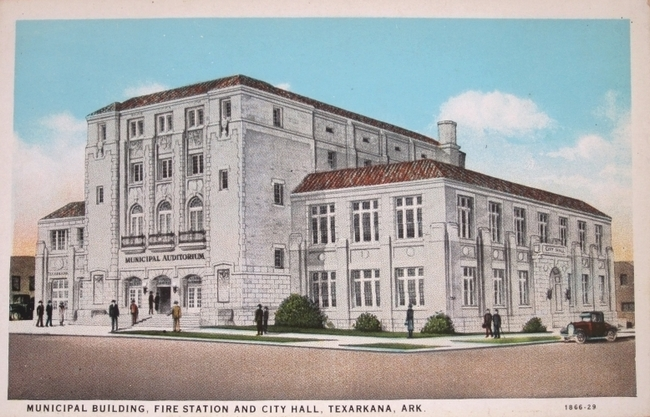 10 municipal auditorium texarcana