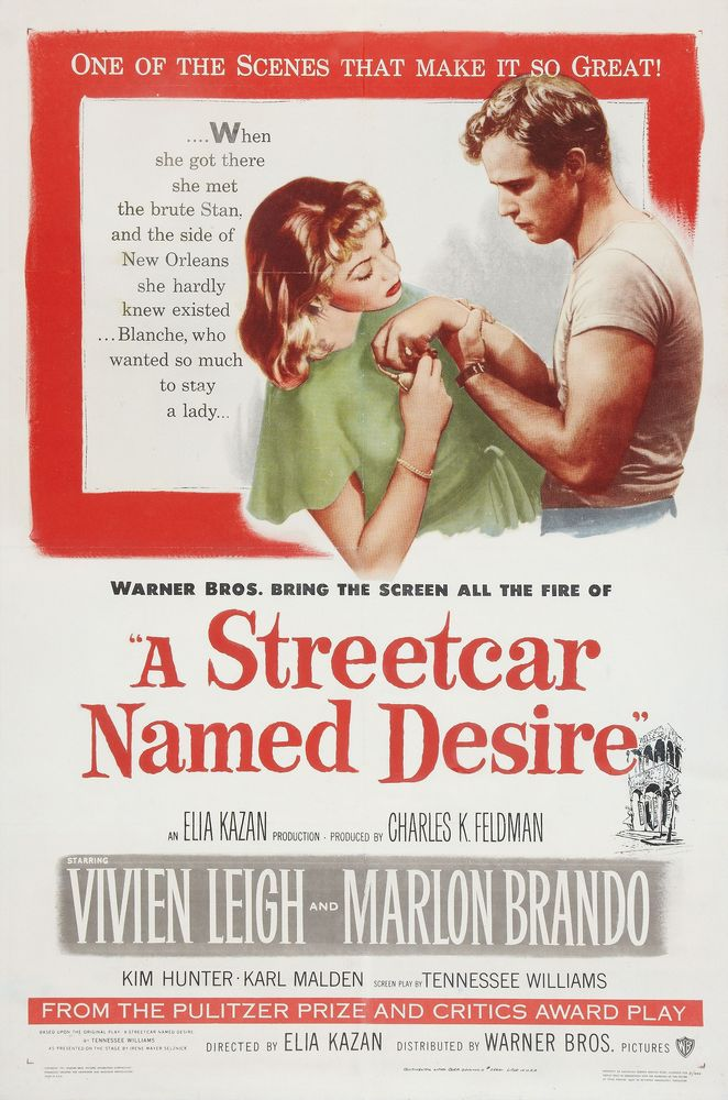 A Streetcar Named Desire (1951) 1-sheet