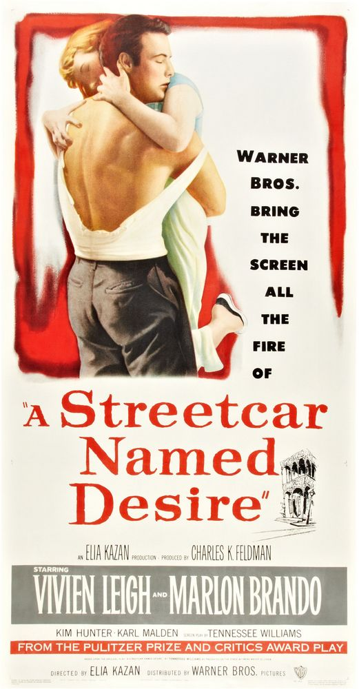 A Streetcar Named Desire (1951) 3-sheet
