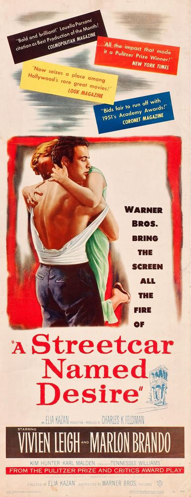 A Streetcar Named Desire (1951) insert