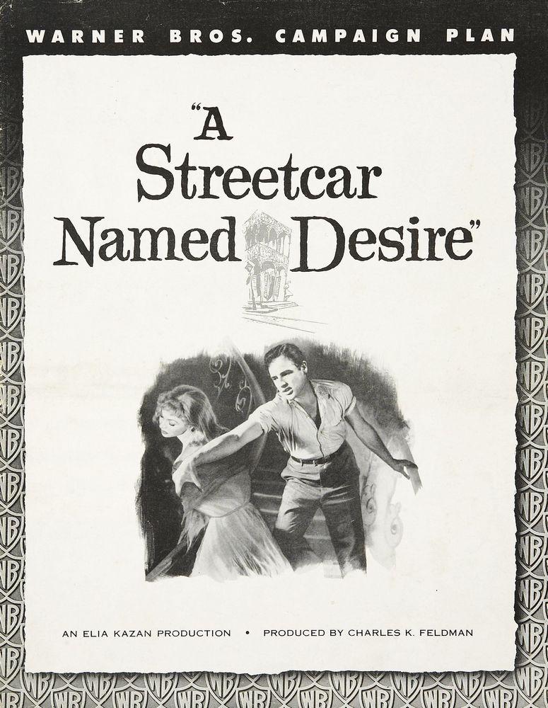 A Streetcar Named Desire (1951) pressbook