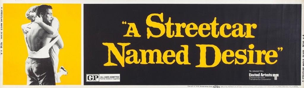 A Streetcar Named Desire (R-1970) banner
