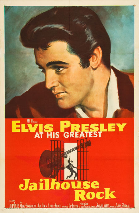Jailhouse Rock - USA 1-sheet