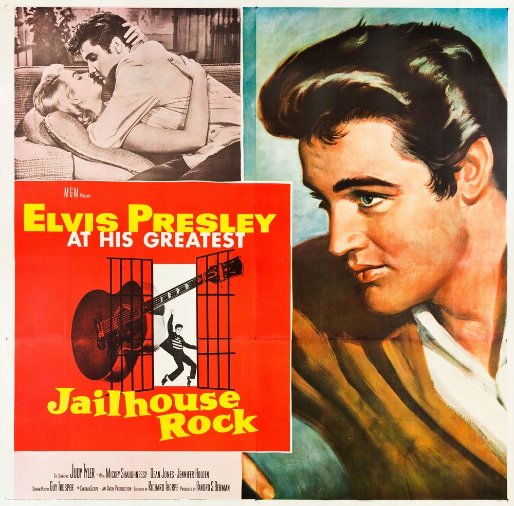 Jailhouse Rock - USA 6 sheet