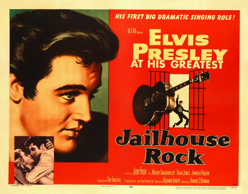 Jailhouse Rock - USA half-sheet A