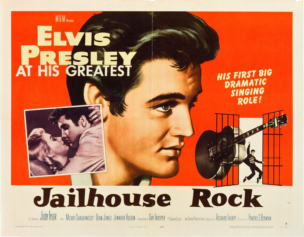 Jailhouse Rock - USA half-sheet B
