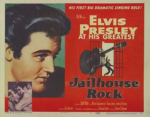 Jailhouse Rock - USA lobby card 1