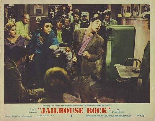 Jailhouse Rock - USA lobby card 2
