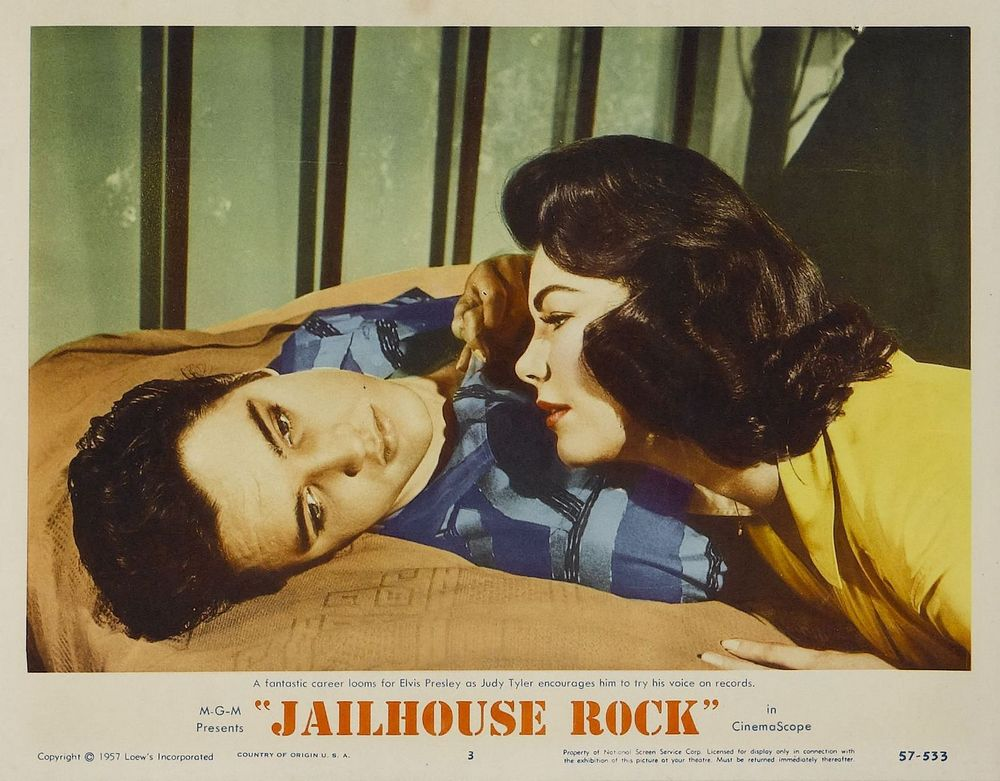 Jailhouse Rock - USA lobby card 3