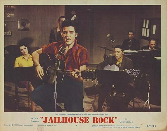 Jailhouse Rock - USA lobby card 4