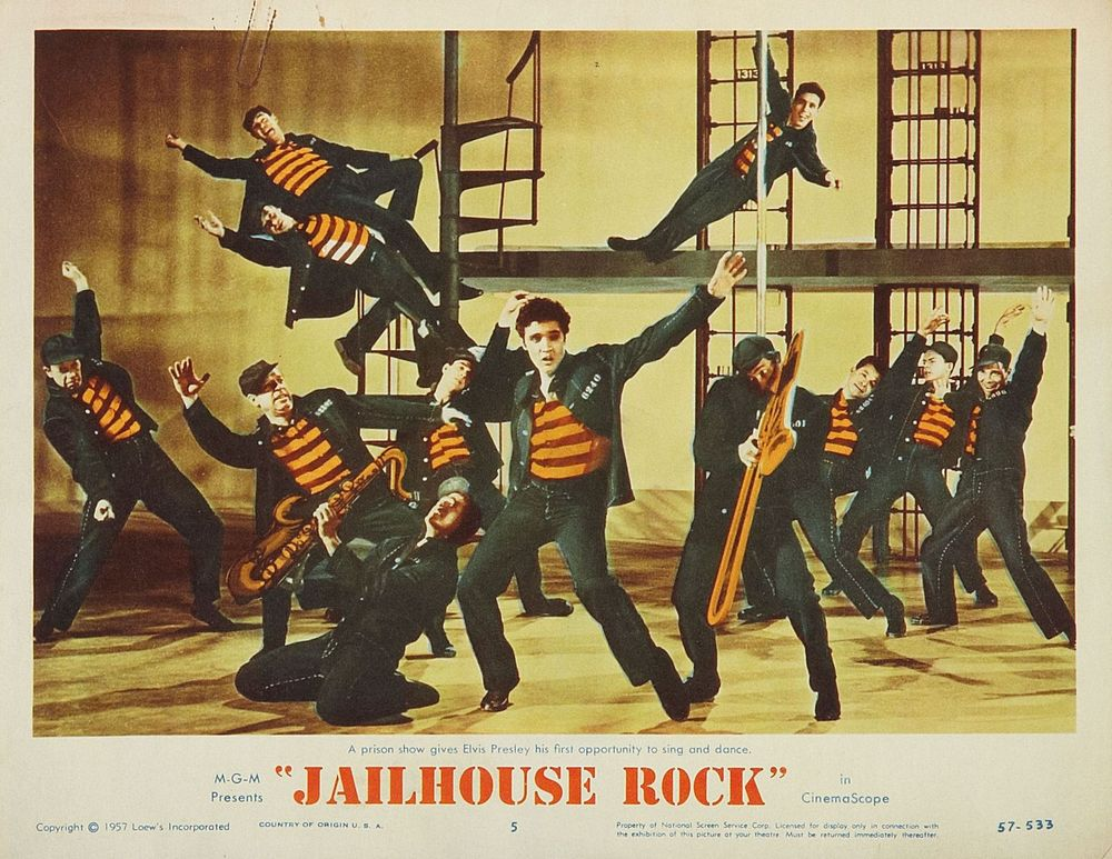 Jailhouse Rock - USA lobby card 5