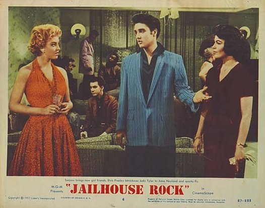 Jailhouse Rock - USA lobby card 6