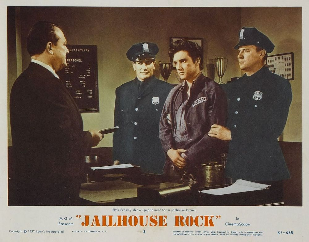 Jailhouse Rock - USA lobby card 8
