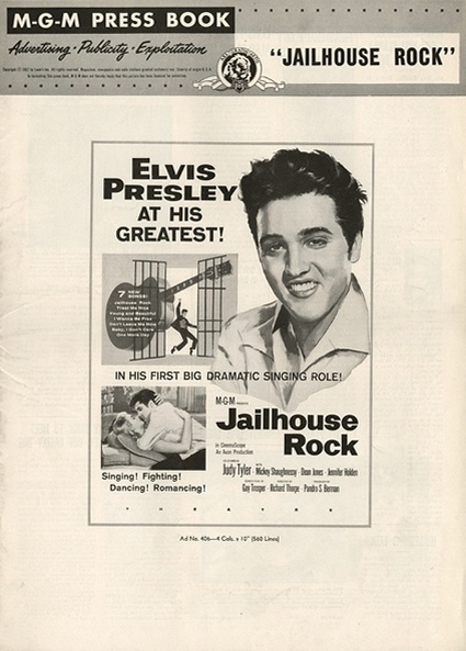 Jailhouse Rock - USA pressbook