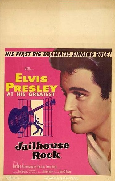 Jailhouse Rock - USA window card