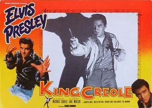 King Creole - France lobby card 1