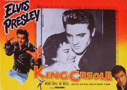 King Creole - France lobby card 3