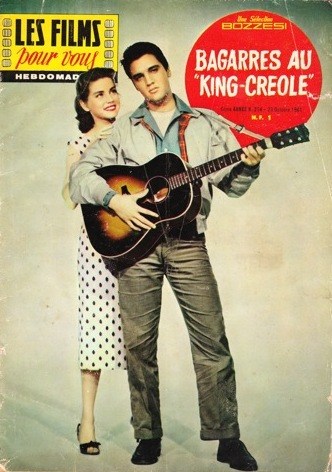 King Creole - France magazine '61
