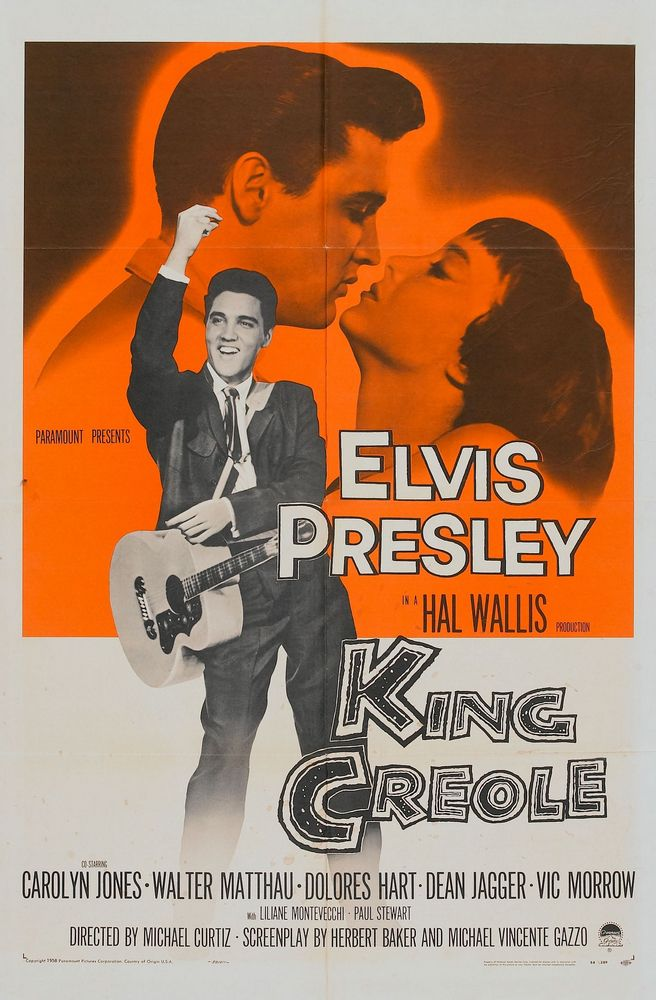King Creole - USA 1-sheet
