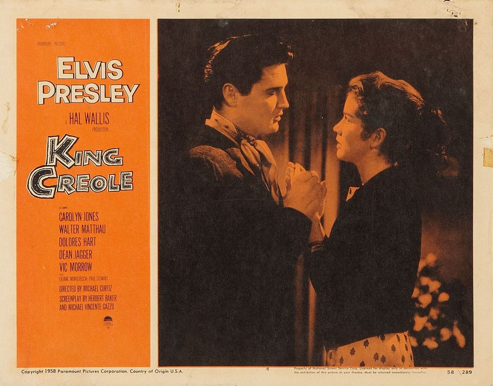 King Creole - USA lobby card 4