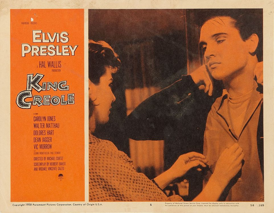 King Creole - USA lobby card 5