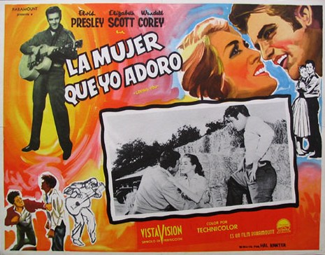 Loving You - Mexico lobby card 2