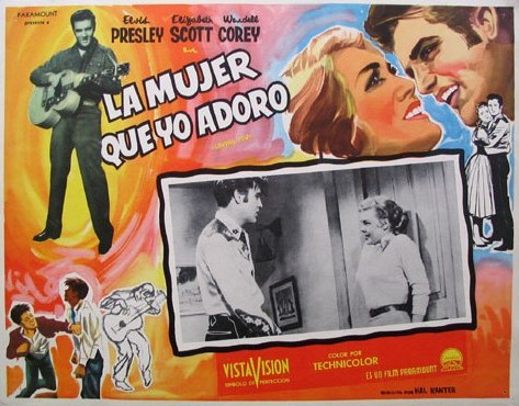 Loving You - Mexico lobby card 3