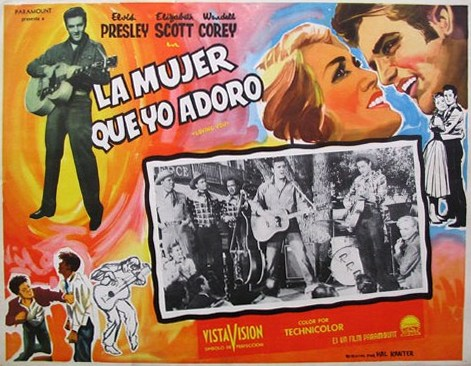 Loving You - Mexico lobby card 4