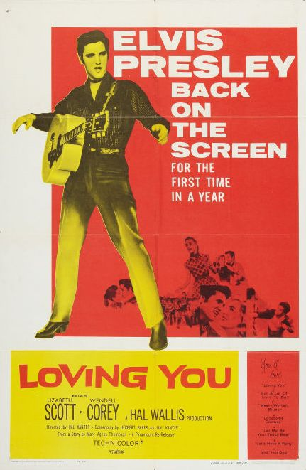 Loving You - USA 1-sheet (1959)