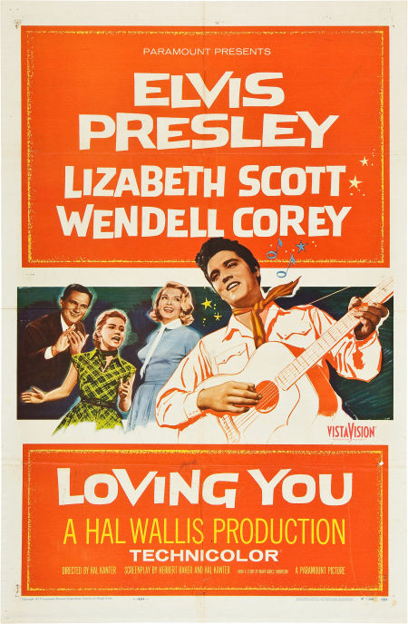 Loving You - USA 1-sheet