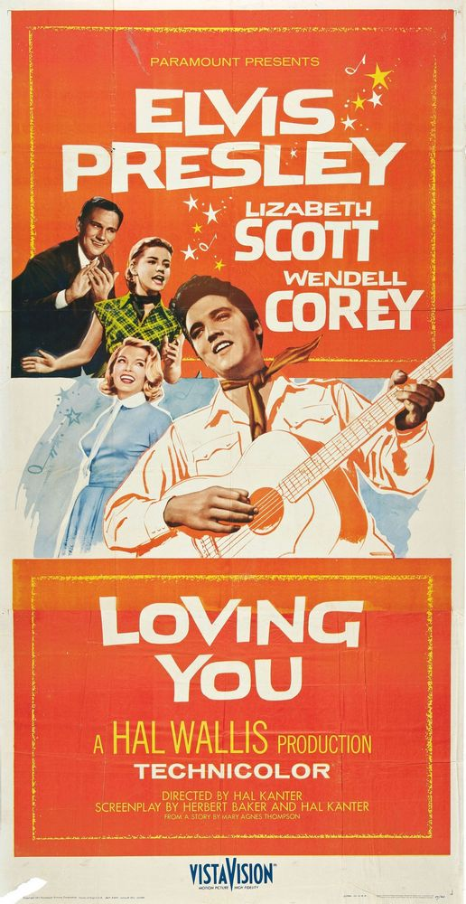 Loving You - USA 3-sheet