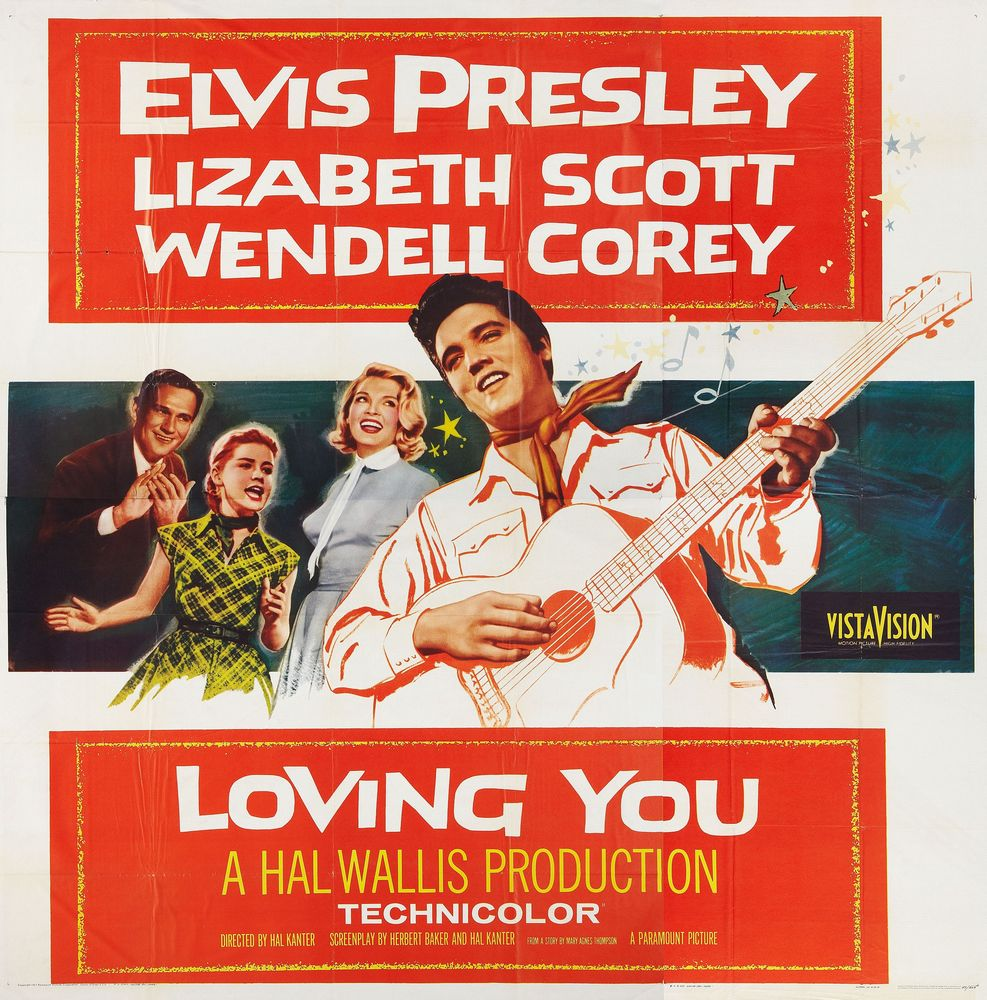 Loving You - USA 6-sheet