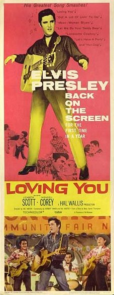 Loving You - USA insert (1959)