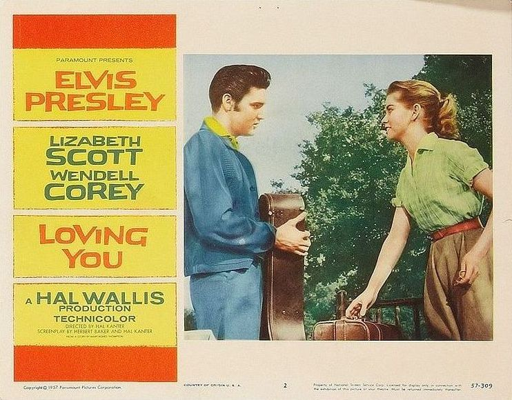 Loving You - USA lobby card 2
