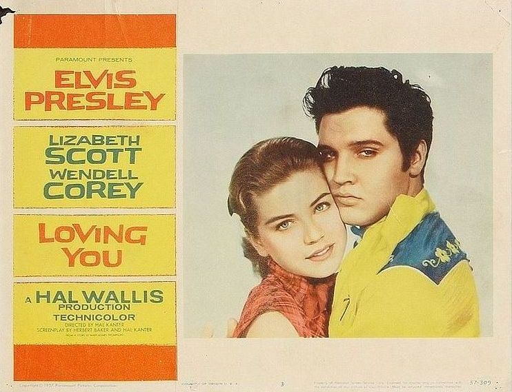 Loving You - USA lobby card 3