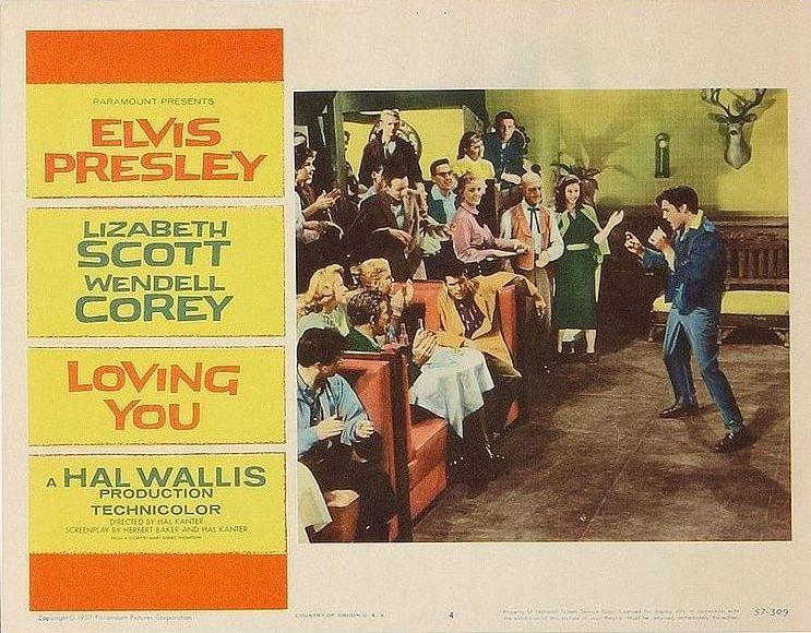 Loving You - USA lobby card 4