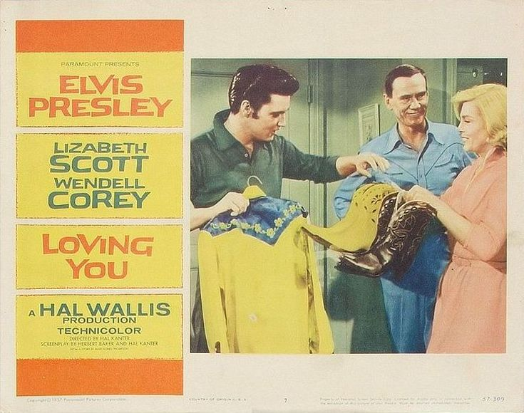 Loving You - USA lobby card 7