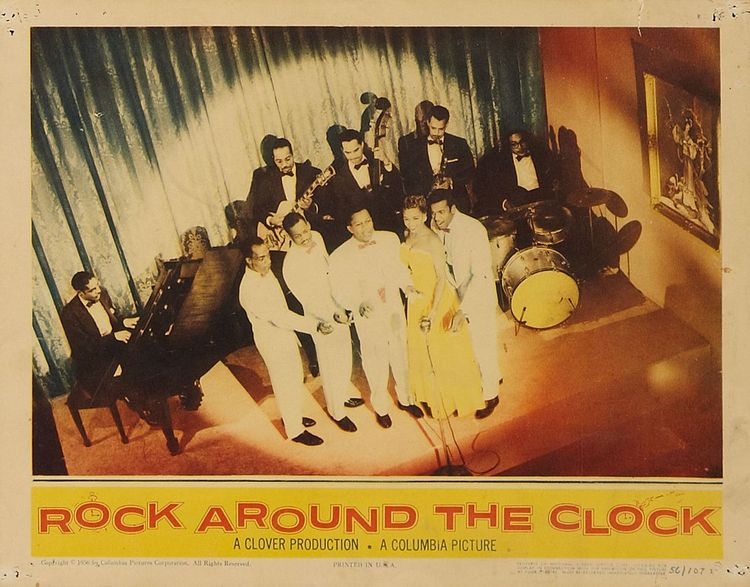 Rock Around The Clock 1956 Elvis Echoes Of The Past