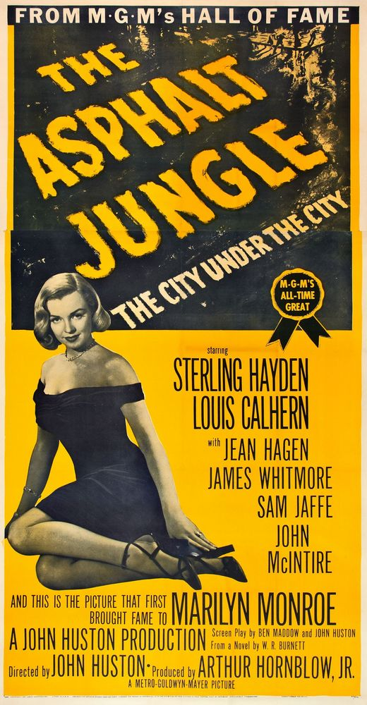 USA 3-sheet (1954, re-release featuring Marilyn Monroe)