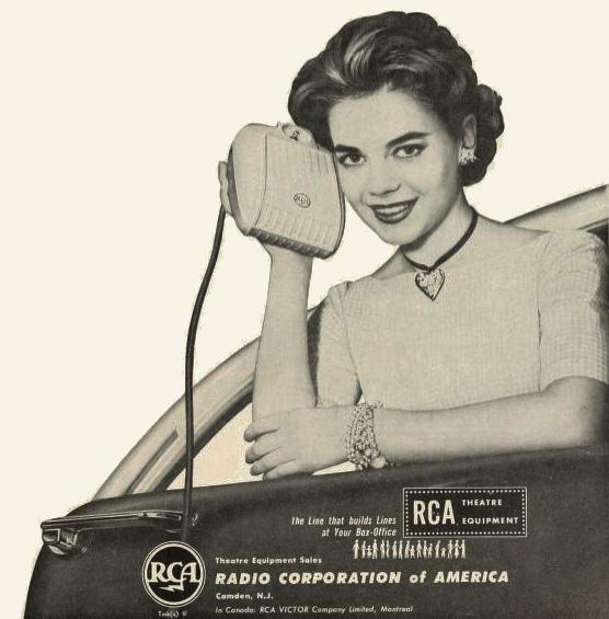 1957 RCA Natalie Wood
