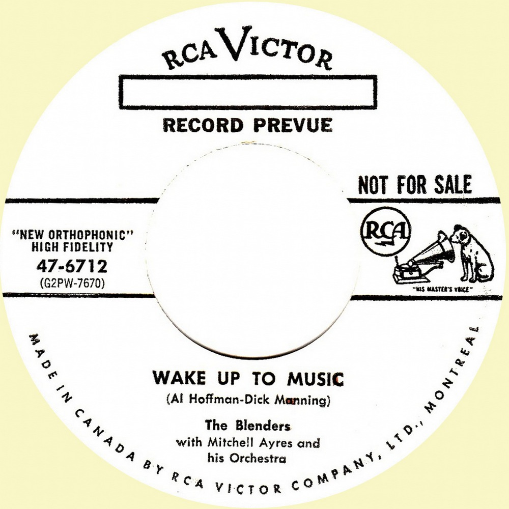 47-6712 Wake Up To Music - Canada A upgrade