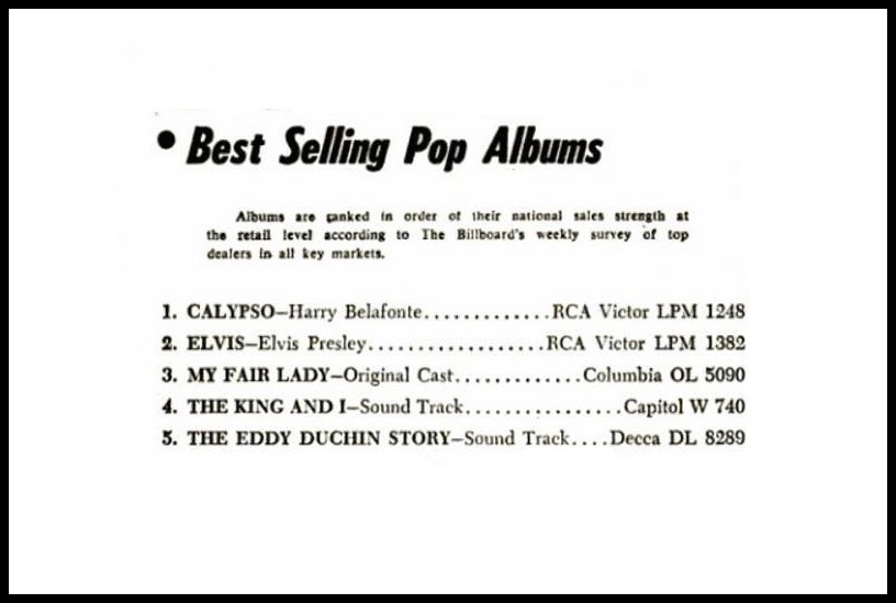 Billboard, January 12, 1957