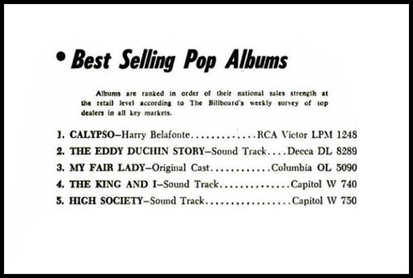 Billboard, October 20, 1956