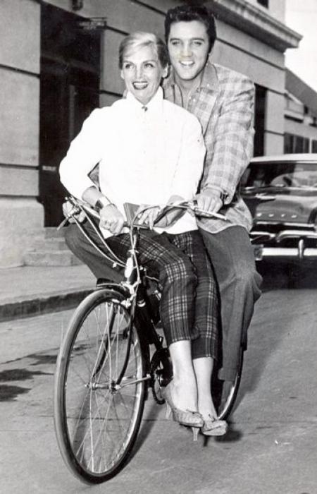Elvis and Liz 1957