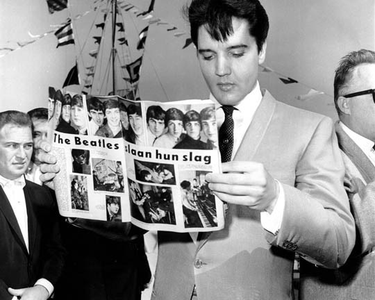 The Beatles Polska: The Beatles nie przepadali za Elvisem Presleyem