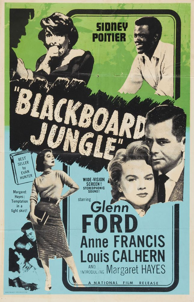 Blackboard Jungle - Canada (re 1960's)