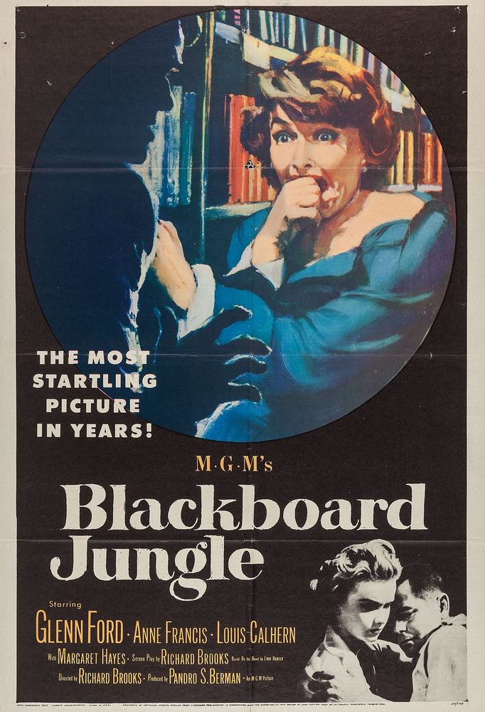 Blackboard Jungle - USA 1-sheet