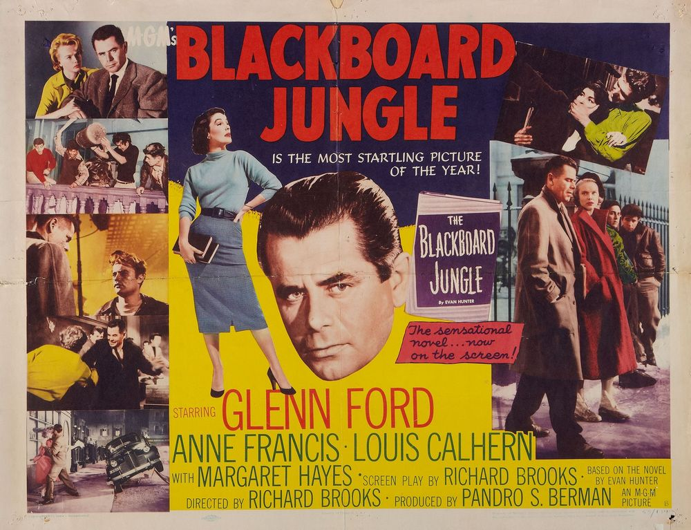 Blackboard Jungle - USA half-heet
