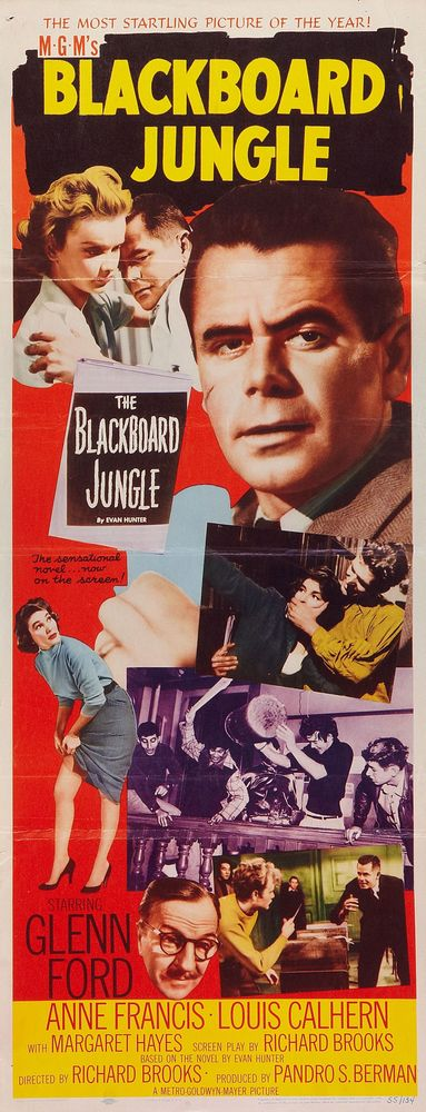 Blackboard Jungle - USA insert